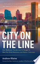 City on the Line Book