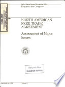 North American Free Trade Agreement: Assessment of Major Issues
