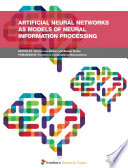 Artificial Neural Networks as Models of Neural Information Processing