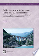 Public Investment Management In The New Eu Member States Book PDF