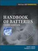 Handbook of Batteries Book
