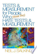 Tests   Measurement for People who  think They  Hate Tests   Measurement Book