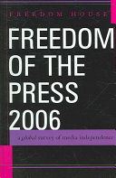 Freedom of the Press 2006 Book PDF