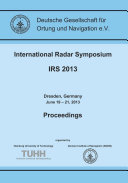 International Radar Symposium IRS 2013