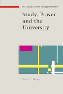 Study, Power and the University