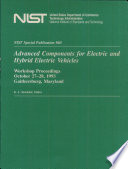 Advanced Components For Electric And Hybrid Electric Vehicles Book PDF