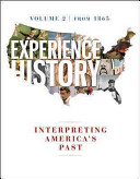 Experience History Vol 2  Since 1865