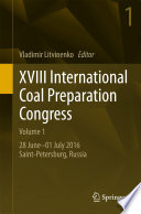 XVIII International Coal Preparation Congress
