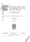 Character Sketches of Romance  Fiction and the Drama