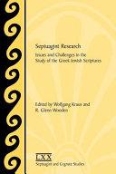 Pdf Septuagint Research