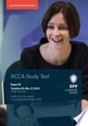 ACCA F6 Irish Tax