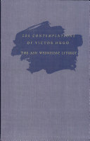 Les Contemplations of Victor Hugo