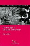 Pdf Le Patrimoine Des Universités Européennes Telecharger