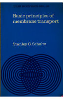 Basic Principles of Membrane Transport