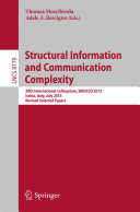 Structural Information and Communication Complexity Pdf/ePub eBook