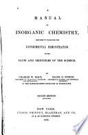 A Manual of Inorganic Chemistry
