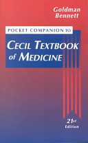 Pocket Companion to Cecil Textbook of Medicine Book