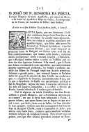 D. J. de N. S. da Porta ... Bispo de Leiria, ... a todos os nossos subditos ecclesiasticos, etc. (Lisboa, 11 Out. 1759.) [A pastoral letter.]