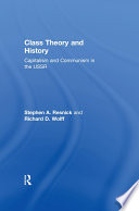 Class Theory and History Pdf/ePub eBook