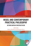 Hegel And Contemporary Practical Philosophy Book