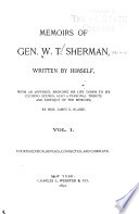 Memoirs of General William T  Sherman