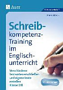 Schreibkompetenz-Training im Englischunterricht 7