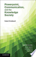 PowerPoint  Communication  and the Knowledge Society Book