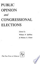 Public Opinion and Congressional Elections