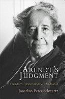 Arendt's Judgment