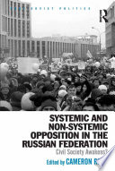 Systemic and Non Systemic Opposition in the Russian Federation