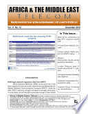 Africa   Mideast Telecom Monthly Newsletter 12 10