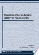 Thermal and Thermodynamic Stability of Nanomaterials