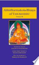 Abhidharmakosa Bhasya of Vasubandhu