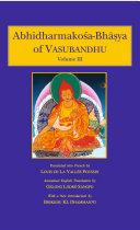 Abhidharmakosa-Bhasya of Vasubandhu