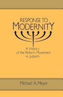 Response to Modernity