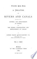 A Treatise On Rivers And Canals  Text