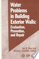 Water Problems in Building Exterior Walls