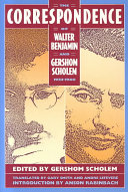 The Correspondence of Walter Benjamin and Gershom Scholem  1932 1940