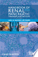 Handbook of Renal and Pancreatic Transplantation