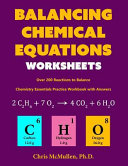 Balancing Chemical Equations Worksheets  Over 200 Reactions to Balance