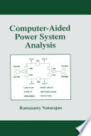 Computer Aided Power System Analysis Book PDF