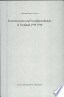 Kommunisten und Sozialdemokraten in Finnland 1944-1948