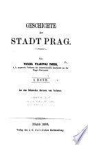 Geschichte der Stadt Prag
