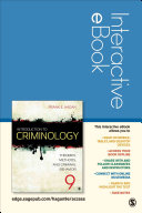Introduction To Criminology Interactive Ebook Student Version