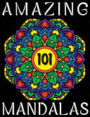 Mandala for Stress Relief Adult Coloring Book   101 Amazing Mandalas