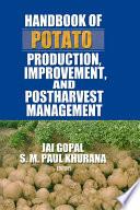 Handbook of Potato Production  Improvement  and Postharvest Management