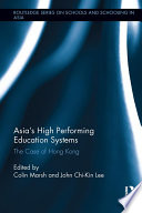 Asia s High Performing Education Systems