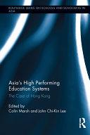 Asia's High Performing Education Systems Pdf/ePub eBook
