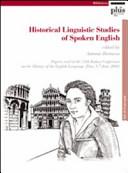 Historical Linguistic Studies of Spoken English