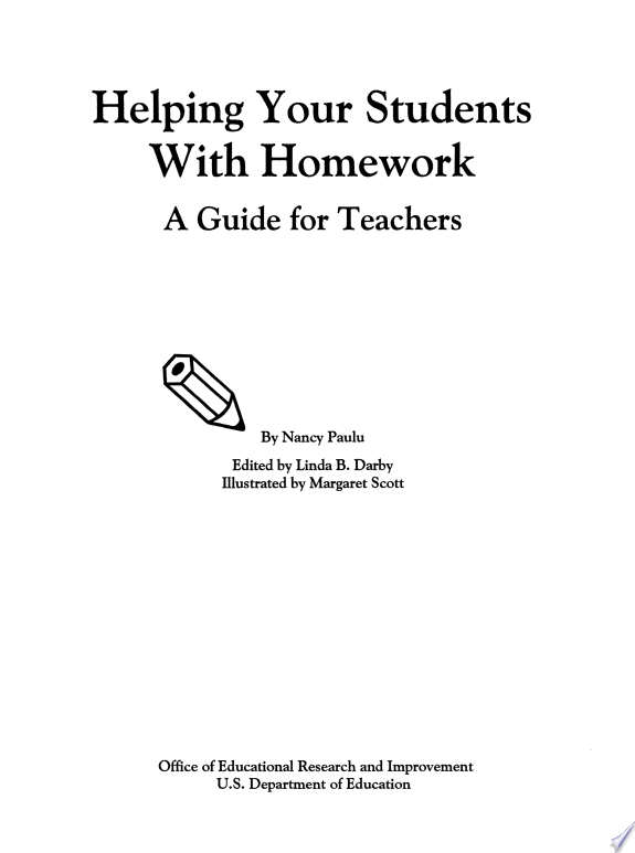 Helping Your Students with Homework